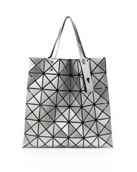 Bao Bao Issey Miyake - Metallic Lucent Basic Faux Leather Tote - Lyst