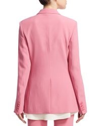 Theory - Pink Power Jacket - Lyst