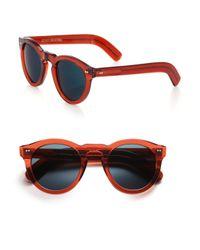 Cutler & Gross - Orange Classic 51mm Round Sunglasses - Lyst