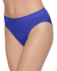 Wacoal Blue B-smooth Hi-cut Brief