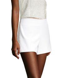 Alice + Olivia Women's Sherri Embellished Shorts - White
