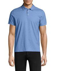 Zachary Prell - Blue Glover Short-sleeve Polo for Men - Lyst