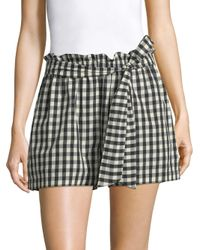 Joie Multicolor Cleantha Gingham Shorts