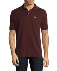 Paul Smith Red Cotton Polo Shirt for men