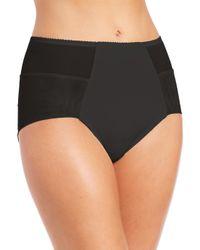 Fortnight - Black Seamless High-waist Bikini Brief - Lyst