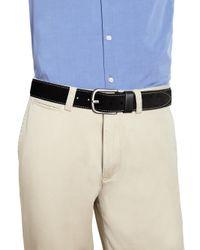 Saks Fifth Avenue - Black Solid Suede Belt for Men - Lyst