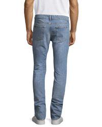 IRO - Blue Medium Cotton Slim Jeans for Men - Lyst