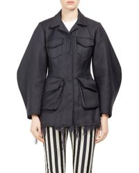Marques'Almeida | Black Multi-pocket Safari Jacket | Lyst