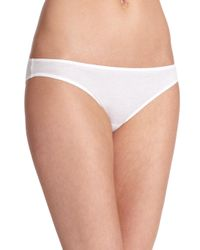 Hanro - White Ultralight Bikini - Lyst