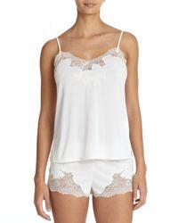 Natori - White Enchant Camisole Pajamas - Lyst