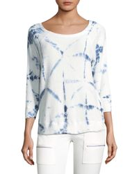 Joie | White Soft Annora Tie-dye Sweater | Lyst