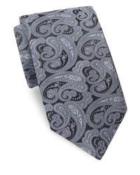 Ike Behar | Gray Persian Nights Silk Tie for Men | Lyst