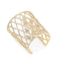 Alexis Bittar - Metallic Elements Crystal Lattice Cuff - Lyst
