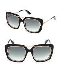 Tom Ford - Black 0619 Marissa Rectangle Sunglasses - Lyst