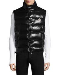 Moncler | Black Tib Gilet Quilted Vest for Men | Lyst