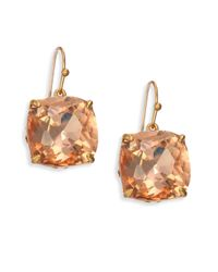 Tory Burch - Multicolor Tory-set Crystal Drop Earrings - Lyst