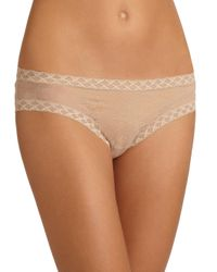 Natori Foundations - Natural Bliss Lace Girl Brief - Lyst
