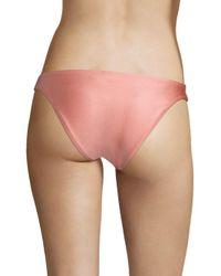 Zimmermann Multicolor Women's Separates Skinny Bikini Bottom - Ballet - Size 3 (large)