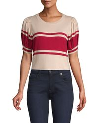 Joie - Multicolor Rolana Knit Puff-sleeve Knit Top - Lyst