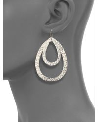 Stephanie Kantis Metallic Paris Double Teardrop Earrings