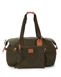 Bric's - Green 18-inch Two-piece Duffel & Shoulder Bag Set - Lyst
