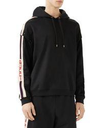 Gucci - Black Technical Jersey Sweatshirt for Men - Lyst