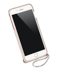 Rebecca Minkoff Metallic Leather Wrap Iphone 7/8+ Case