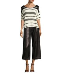 Polo Ralph Lauren | Multicolor Boxy Cotton-blend Sweater | Lyst