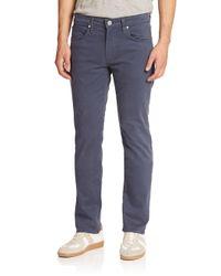 J Brand Blue Woven Straight Pants for men