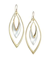 Alexis Bittar - Metallic Lucite Orbit Drop Earrings/silver - Lyst