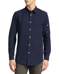 850ea96e8ab G-Star RAW Stalt Clean Shirt in Blue for Men - Lyst
