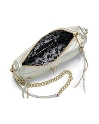 Rebecca Minkoff Women's Mini Mac Leather Chain Crossbody Bag - Black