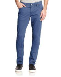 AG Jeans Blue Graduate Slim Straight-fit Jeans for men
