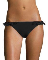 Moré Noir Black Wings Slim Bikini Bottom