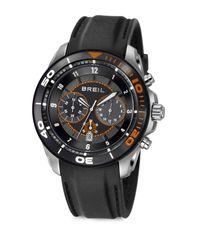 Breil - Black Round Chronograph Watch - Lyst