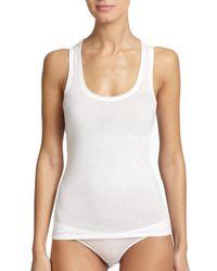 Skin White Organic Pima Cotton Tank Top