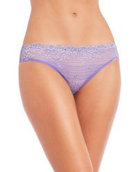 Wacoal Blue Embrace Lace Panties