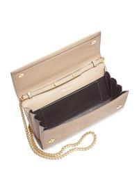 Prada - Multicolor Saffiano Leather Chain Clutch - Lyst