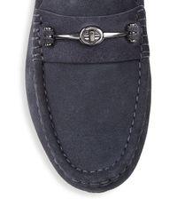 COACH Blue Slip-on Drivers for men