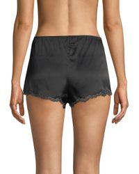 Natori - Black Josie Lolita Lace Tap Shorts - Lyst
