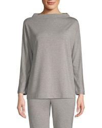 Hanro Gray Balance Long Sleeve Shirt