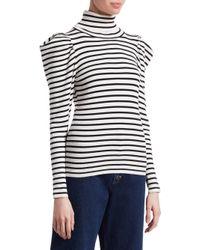 A.L.C. - Multicolor Baker Striped Sweater - Lyst