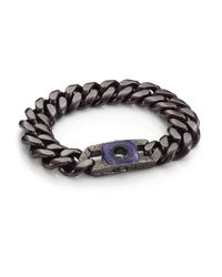Stephen Webster - Men's Blue Sapphire, Lapis & Sterling Silver Clasp for Men - Lyst