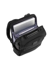 Tumi Black Alpha Slim Solutions Brief Backpack