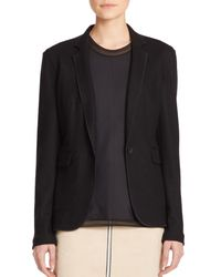 Rag & Bone - Black Club Wool Blazer - Lyst