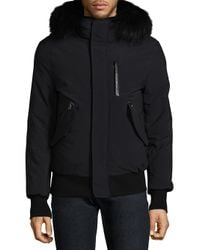Mackage - Black Powder Touch Down Bomber for Men - Lyst