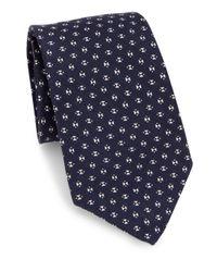 Ralph Lauren | Blue Cashmere & Linen Tie for Men | Lyst