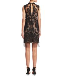 N°21 Black Lace Sleeveless Shift Dress