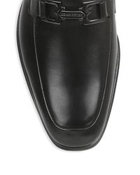 Bruno Magli - Black Roberto Leather Loafers for Men - Lyst