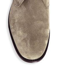 Church's Multicolor Almond Toe Suede Chukka Boots for men
